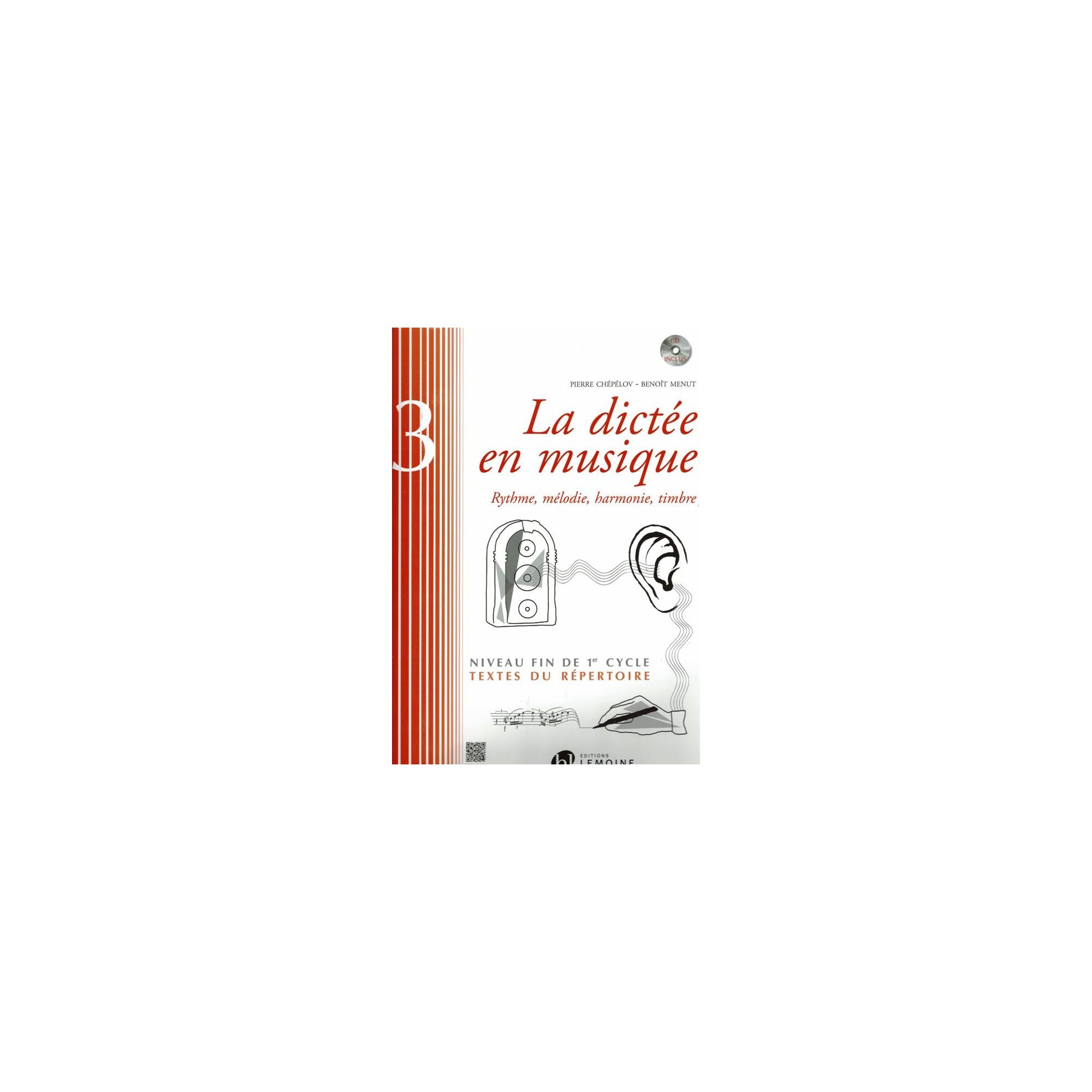 LA DICTEE EN MUSIQUE V.3